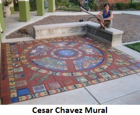 Go to the Cesar Chavez Mural page