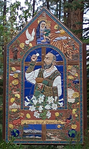 Mural of St. Dio