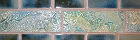 Swimming fish tiles, detail 3