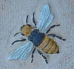Tile detail -- bee