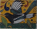 Tile detail -- magpie